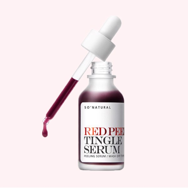 SERUM THAY DA SINH HỌC SO NATURAL RED PEEL TINGLE