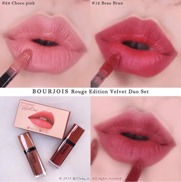 SON KEM LỲ BOURJOIS ROUGE EDITION VELVET