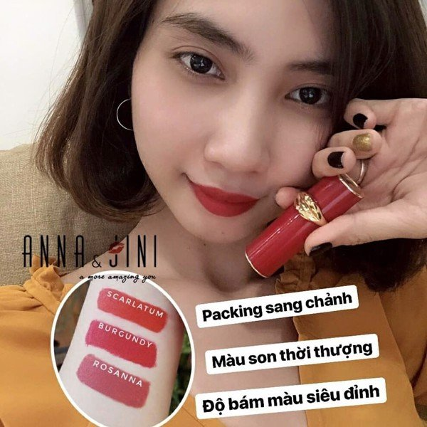 SON THỎI LỲ HANSMILE MYSTIC LIPSTICK LIMITED EDITION
