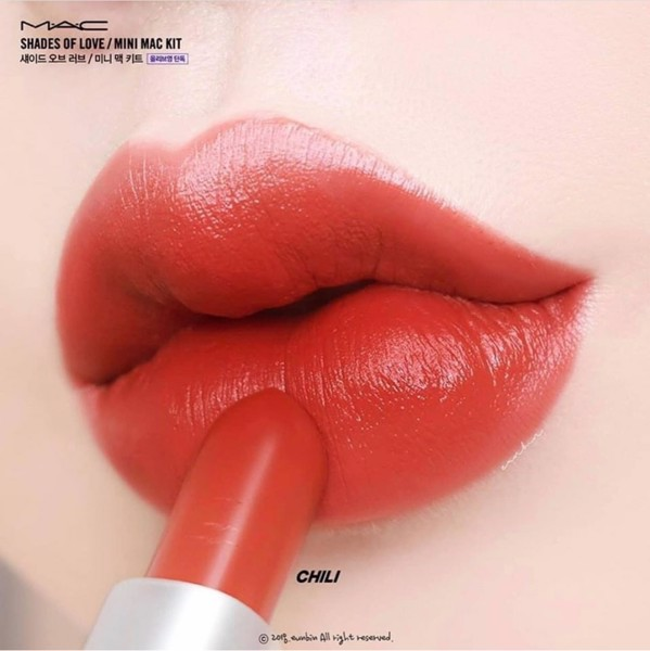SON MAC MATTE CHILI 602 - ĐỎ