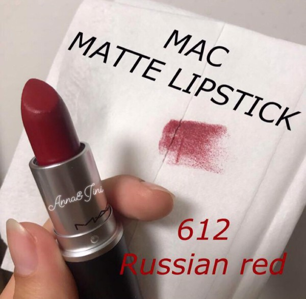 SON MAC MATTE LIPSTICK - RUSSIAN RED 612 - MARRAKESH 646
