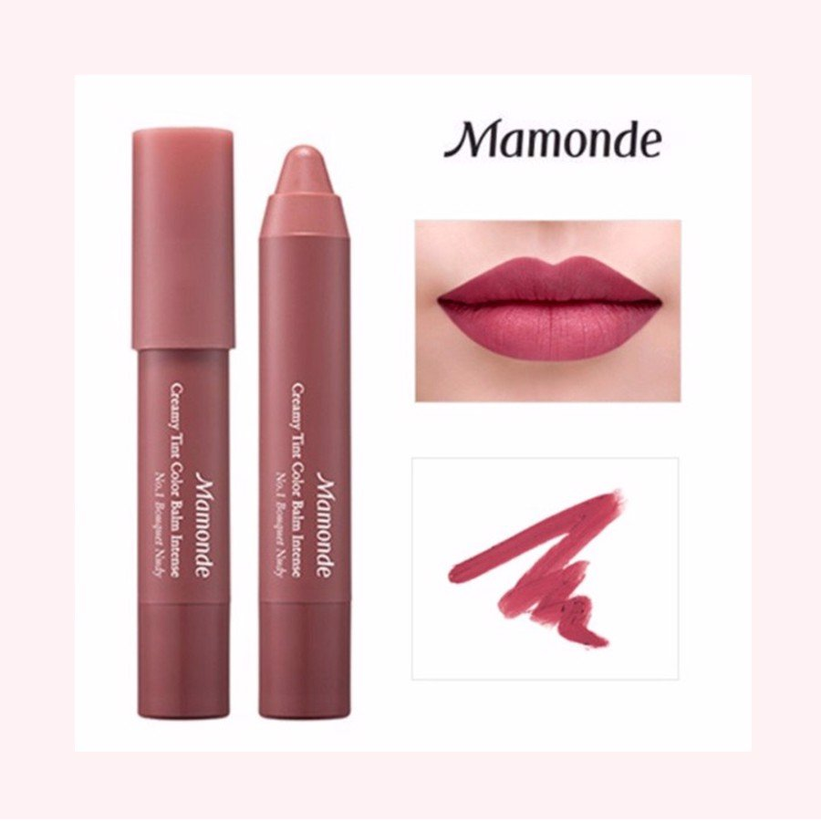 MAMONDE CREAMY TINT COLOR BALM INTENSE NO.13 VELVET ROSE