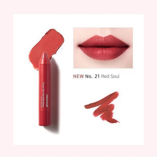 MAMONDE CREAMY COLOR BALM INTENSE NO.21 RED SOUL