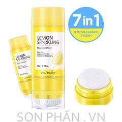 Sáp Rửa Mặt SECRET KEY Lemon Sparkling Stick Cleanser 38g