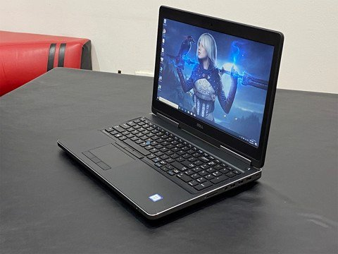 Dell 7510 i7-6920HQ 8GB 256GB M2000M FHD
