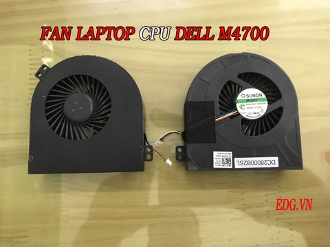 FAN CPU Laptop Dell M4700