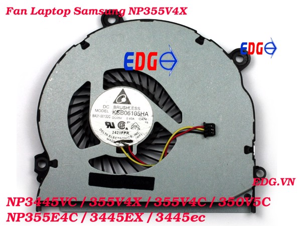 Fan Laptop Samsung NP355E4V