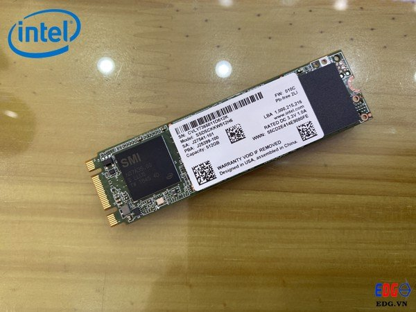 Ổ cứng SSD 512GB M2 2280 Intel 5 series