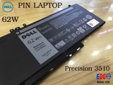 Pin laptop Dell Precision 3510 62W