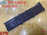 Pin Laptop Dell Precision 5520
