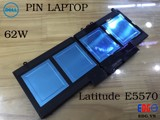 Pin laptop Dell E5570 62W