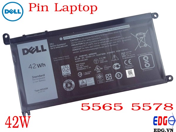 Pin Laptop Dell 5565 5578