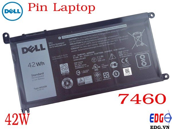 Pin Laptop Dell 7460