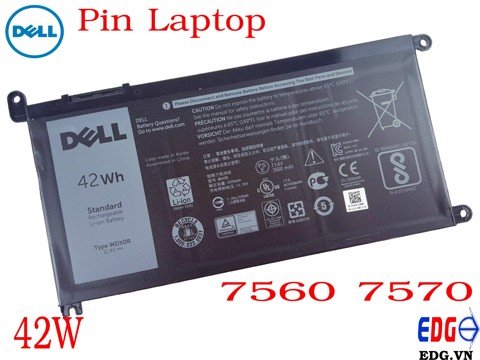 Pin Laptop Dell 7560 7570