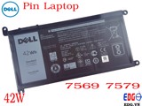 Pin Laptop Dell 7569 7579