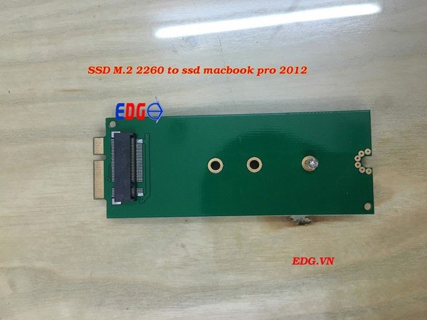 Adapter SSD M2 2260 TO SSD macbook Pro 2012