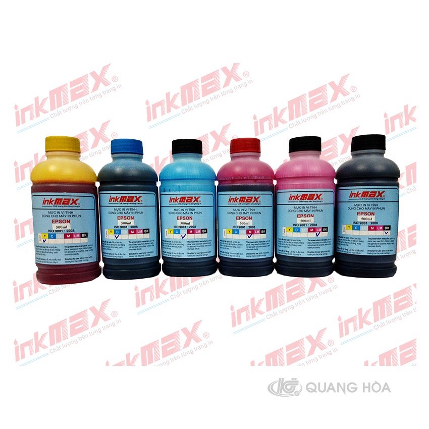 Mực nước Epson 500ml Inkmax (Light Cyan)