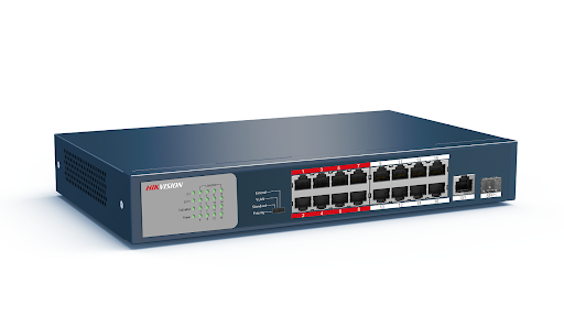 16-port 10/100Mbps PoE Switch HIKVISION DS-3E0318P-E/M