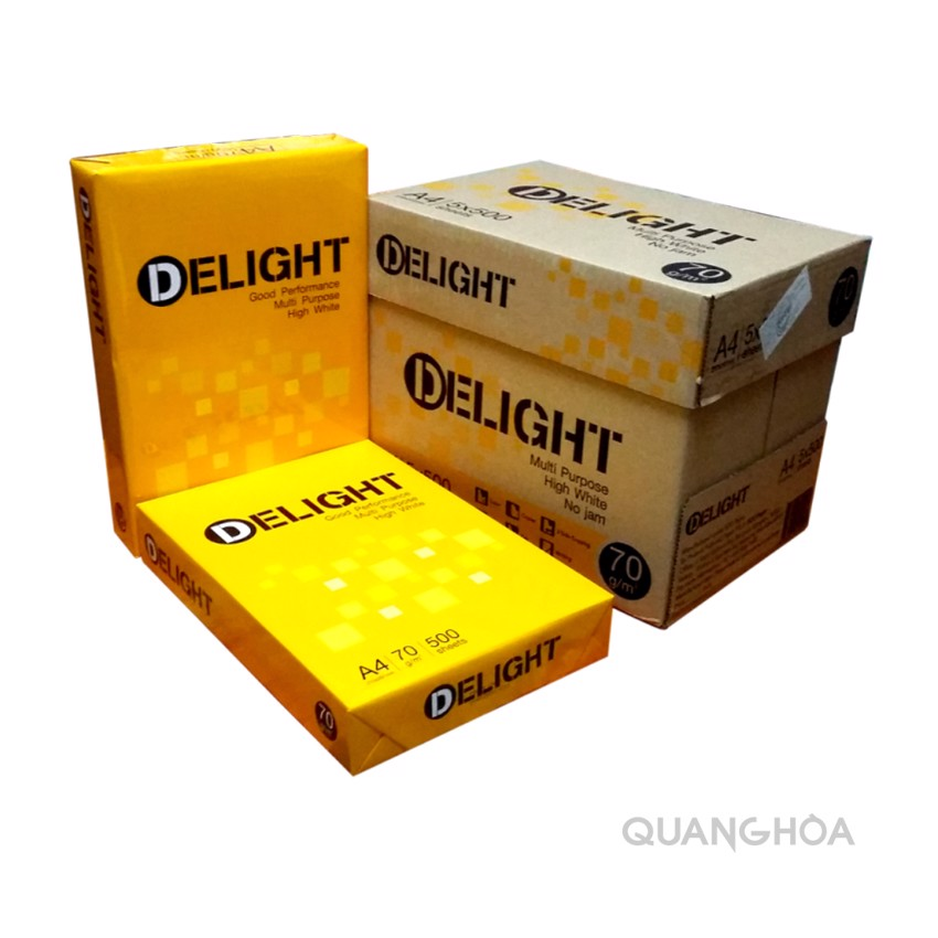 Giấy Delight A4 70gsm