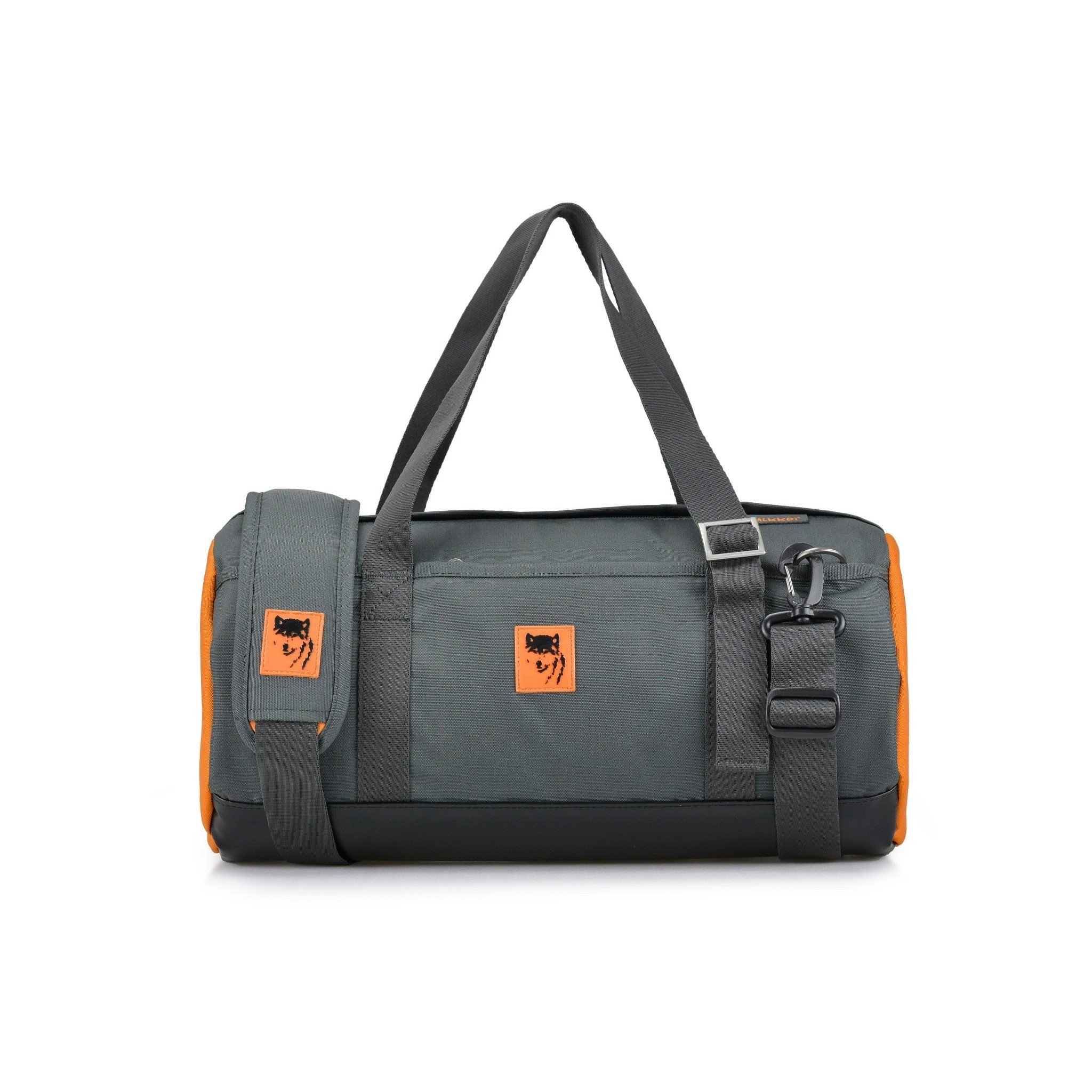 The Sporty Gymer Charcoal/Orange