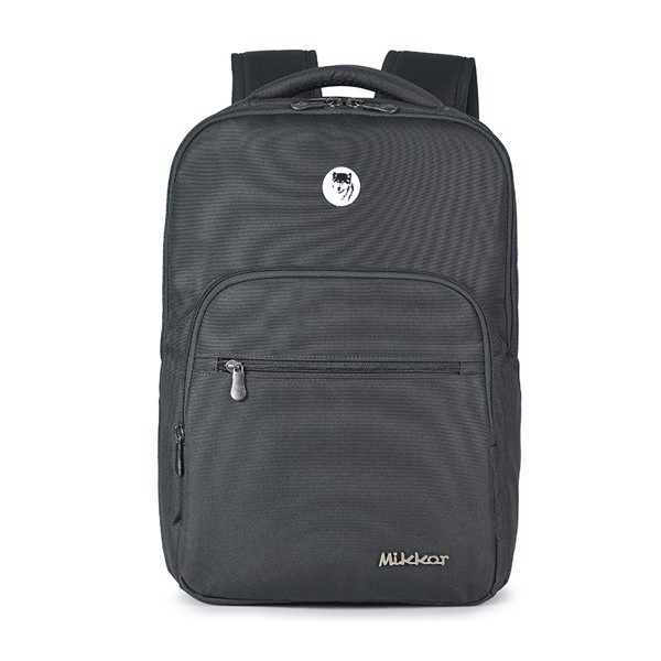 Balo Laptop Mikkor The Maddox Charcoal