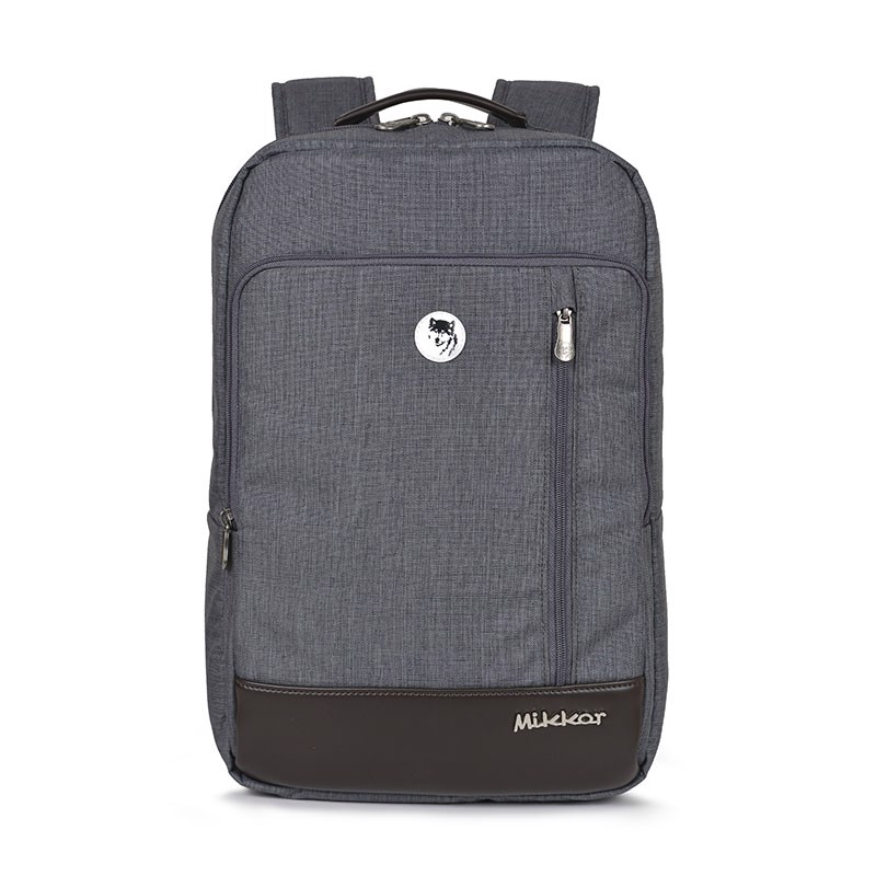 Mikkor The Ralph Backpack Dark Mouse Grey