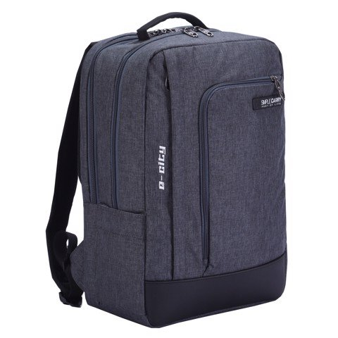 Balo Laptop Simplecarry E-City D.Grey