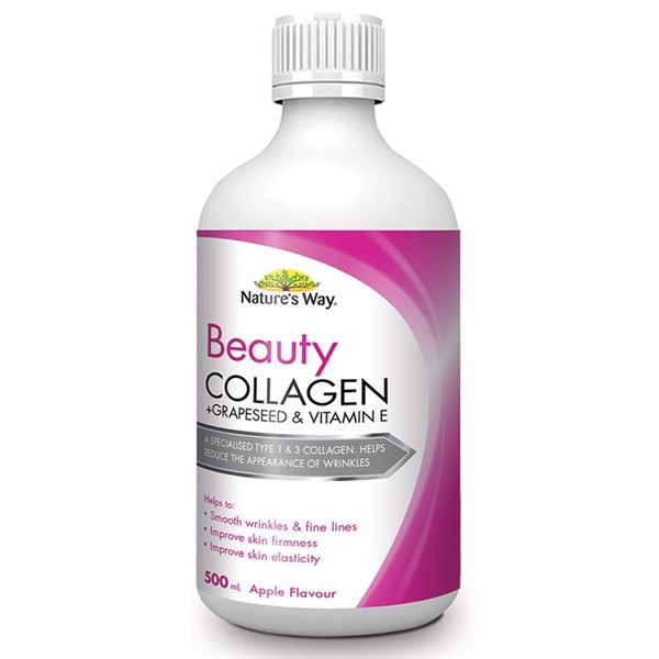 Collagen dạng nước Nature's Way - Nature's Way beauty Collagen Liquid 500ml