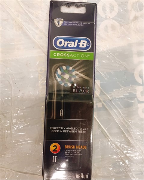 Oral B set 2 đầu bàn chải Cross Action