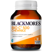Blackmores Bio Vitamin C 500mg 50 Chewable  - Kẹo bổ sung Vitamin C
