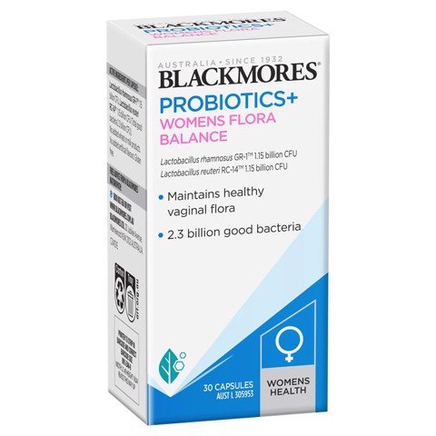 Blackmores Probiotics+ Womens Flora Balance - Men vi sinh