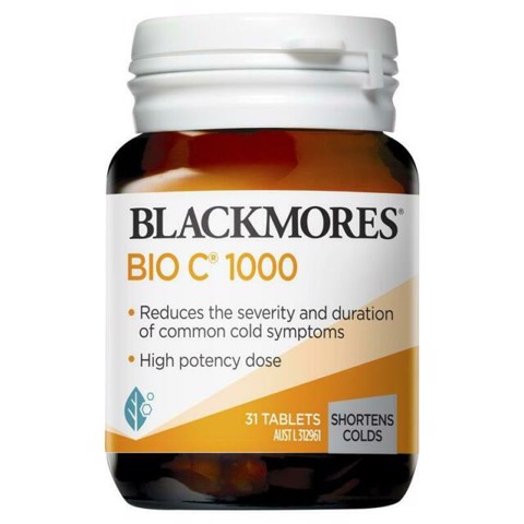 Blackmores Bio Vitamin C 1000mg 31 viên