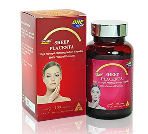 Nhau thai cừu Biosis sheep placenta 100 viên