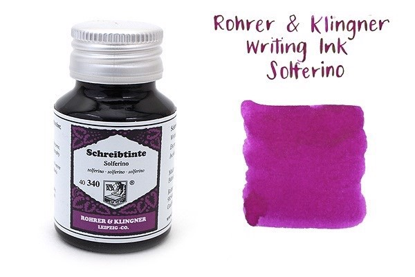 Rohrer & Klingner Writing Ink Solferino
