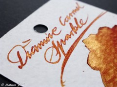 Diamine Caramel Sparkle 50ml