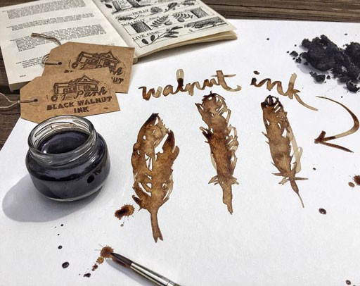 MỰC TSUKINEKO WALNUT INK CRYSTALS
