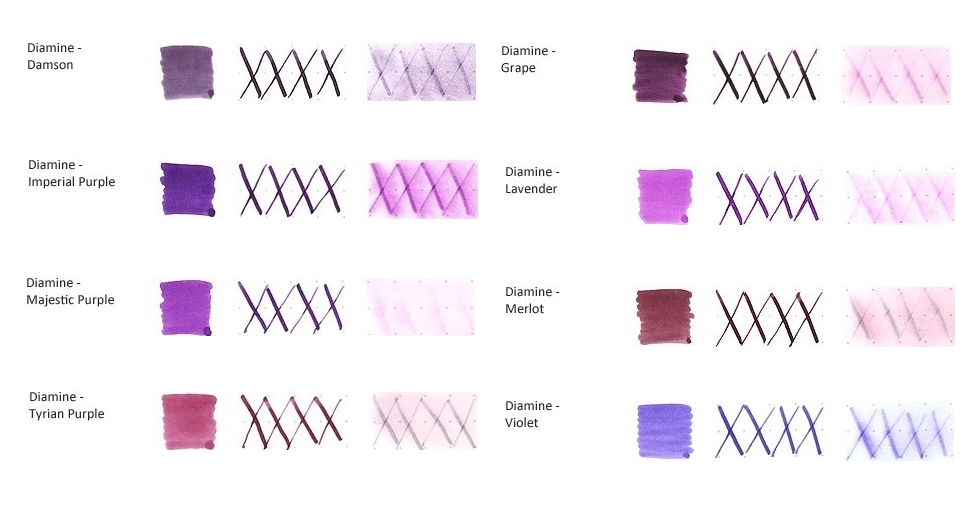 Sample 5ml Diamine Ink (Purple)