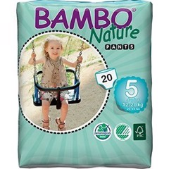 Tã Quần Bambo Nature Junior 5 (XL20) ( 12-20kg)