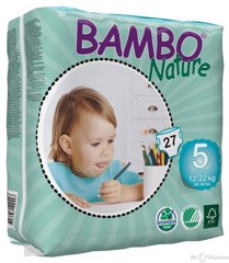 Tã dán Bambo Nature Junior  (Xl27) (12-22kg)