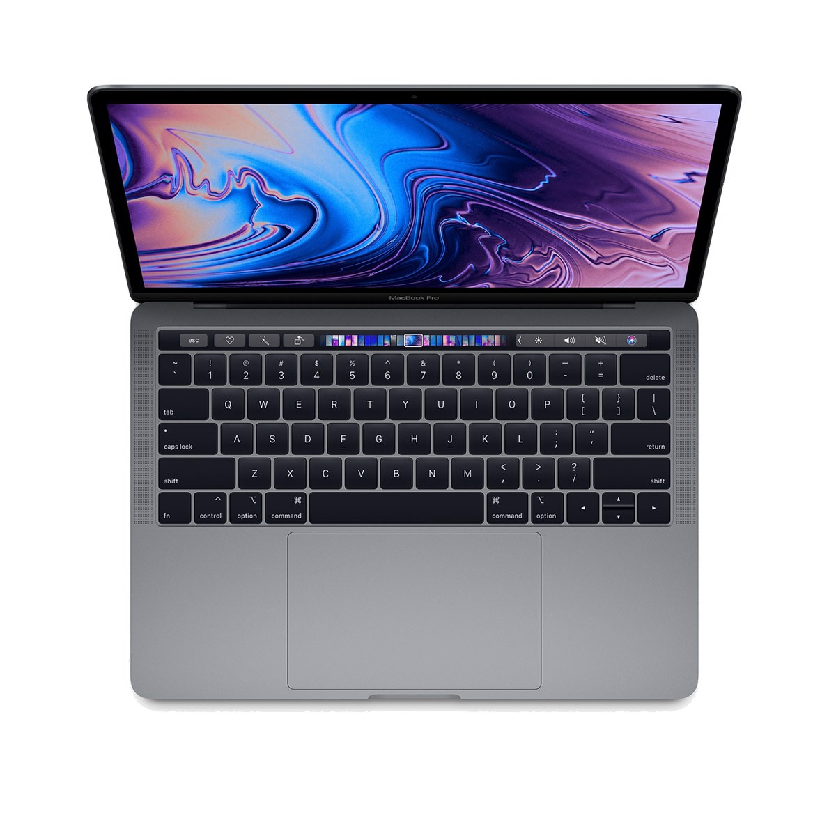 Macbook Pro 13 inch 2019 512GB SSD Space Gray - Silver