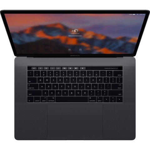 MPTT2LL/A CTO  - Macbook Pro 2017 15 inch Option CPU 3.1Ghz + 512GB SSD TouchBar ( Space Gray) New 99%
