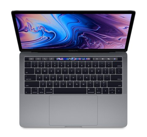 MR9R2LL/A - Macbook Pro 13 inch 2018 Quad I7 2.7Ghz 16GB 512GB SSD Space Gray New 99%