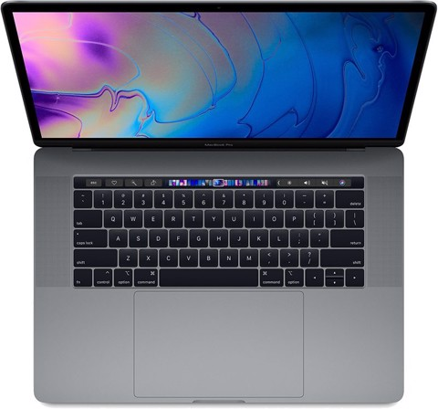 MR942LL/A - Macbook Pro 15 inch 2018 - 6 Core I7 16GB 1TB SSD New 99%