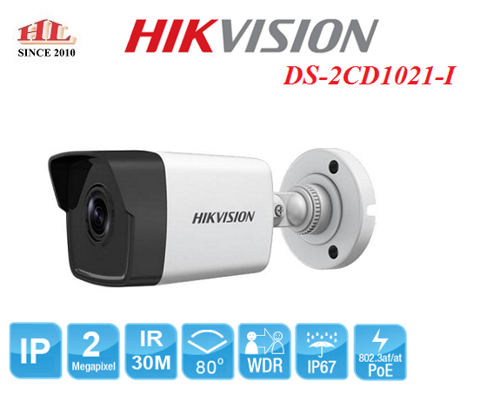 CAMERA IP 2MP HIKVISION DS-2CD1023G0-I