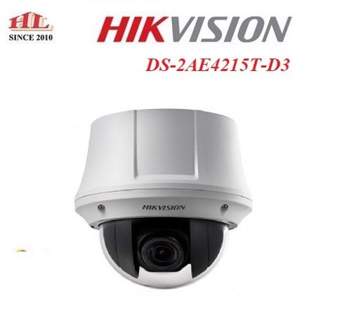 CAMERA HD-TVI PTZ DS-2AE4215T-D3