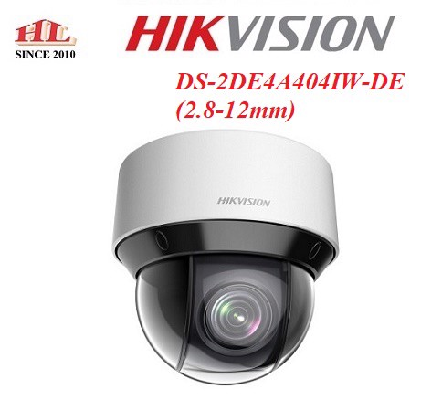 CAMERA IP SPEED DOME PTZ DS-2DE4A404IWDE-(2.8-12mm)