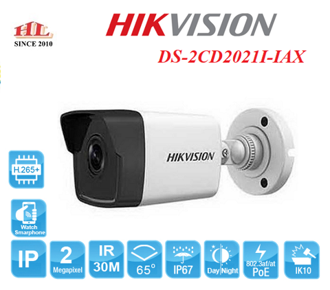CAMERA IP 2MP HIKVISION DS-2CD2021I-IAX