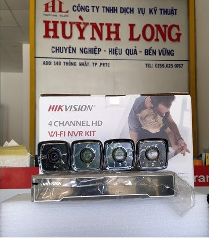 BỘ KIT CAMERA IP WIFI