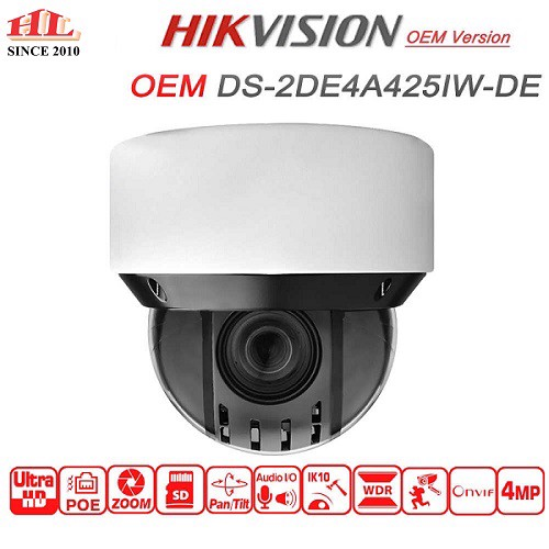 CAMERA IP PTZ DS-2DE4A425IW-DE