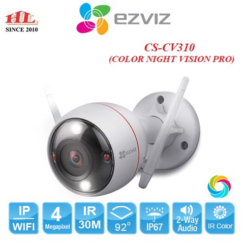 C3W COLOR NIGHT VISION PRO 4.0MP